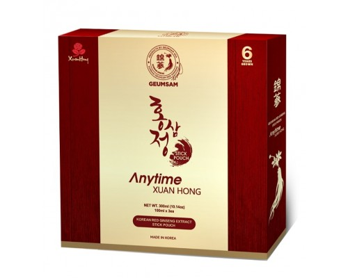 Geumsam Red Ginseng Extract Stick Pouch/Anytime Premium    (See Curernt Sale under Promotion)