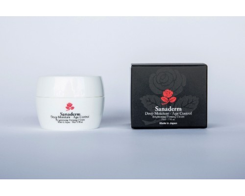 Deep Moisture - Age Control Brightening Firming Night Cream (Made In Japan), 50 ml