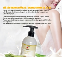Organic Shower Gel - Lemongrass
